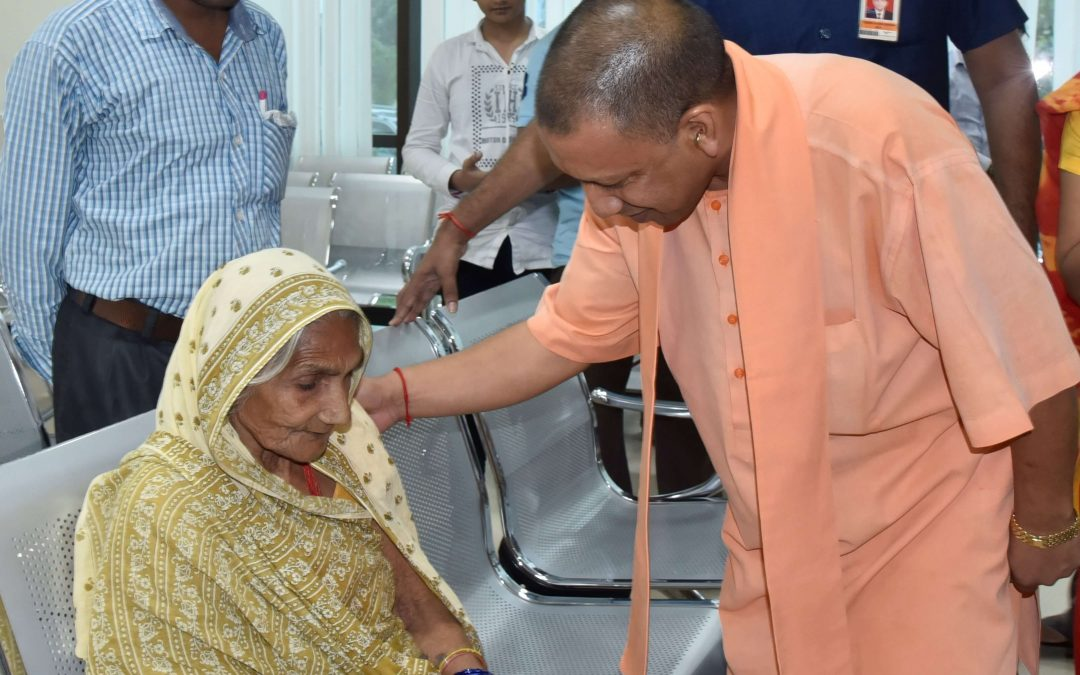 CM Visit at AIIMS Gorakhpur
