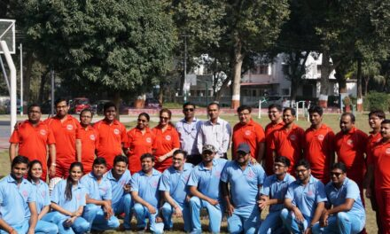 Sports event faculty vs residents match 30th Nov 2019