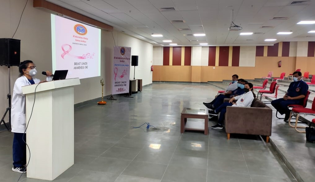 CME on Breast Cancer Awareness (03.11.2020)