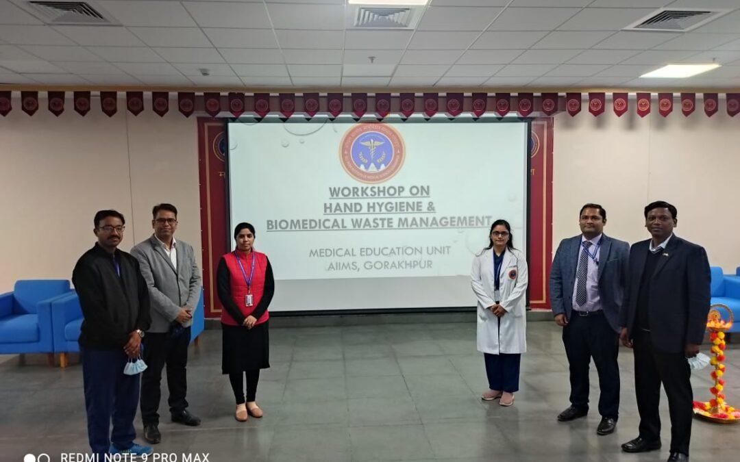 Workshop on Hand Hygiene and BMW (02.01.2021)