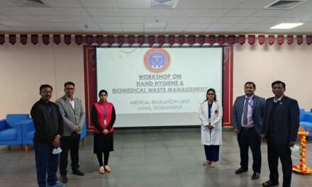 Workshop on Hand Hygiene and BMW (02.01.2021)